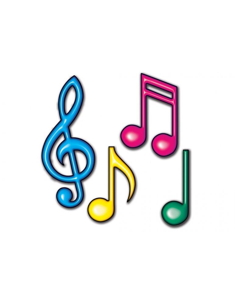 notes de musique de couleur neon 12 21 12