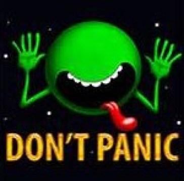 Don't Panic good