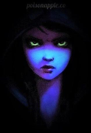 dark blue frankie girl