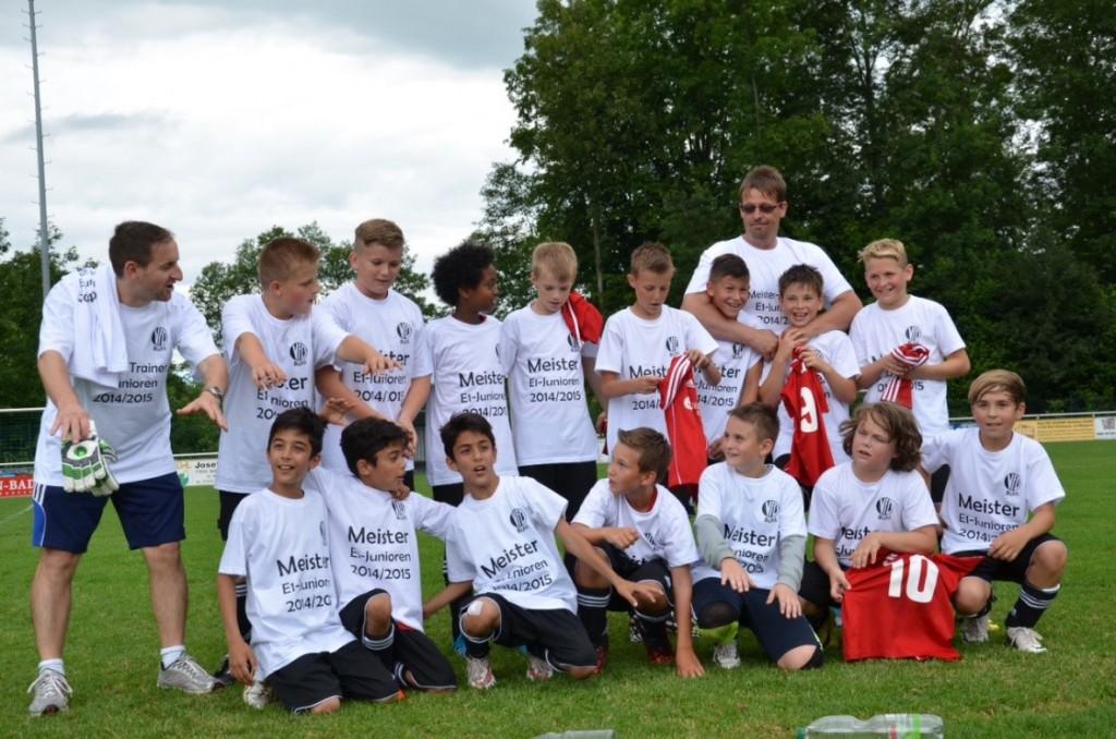 E1-Junioren Meister