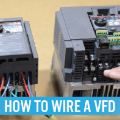 3 Phase Motor Control Panel Wiring Diagram Usb Color How To Wire A Vfd