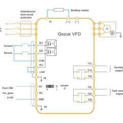 Vfd Control Wiring Diagram Cherry Blossom Origami Schematic Variable Frequency Drive Digital Inputs Circuit