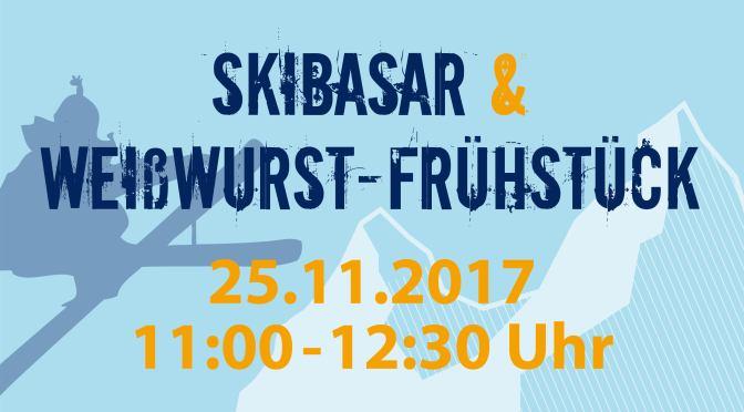 Skibasar mit Weißwurst-Frühstück