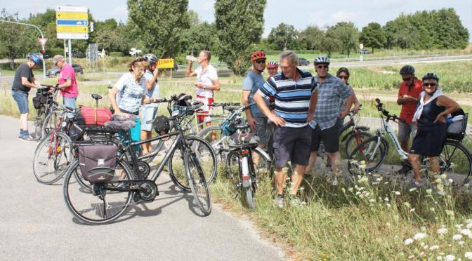 Bilder von der AH Radtour am 29.07.18 zum Schönbuchturm