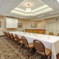 Chair Cover Rentals Windsor Ontario Office Weight Capacity 300 Lbs Meetings Events Holiday Inn Suites Ambassador Cottam Room