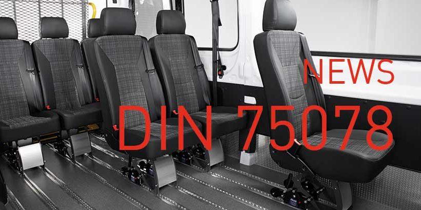 DIN 75078 die Fahrdienst-Norm