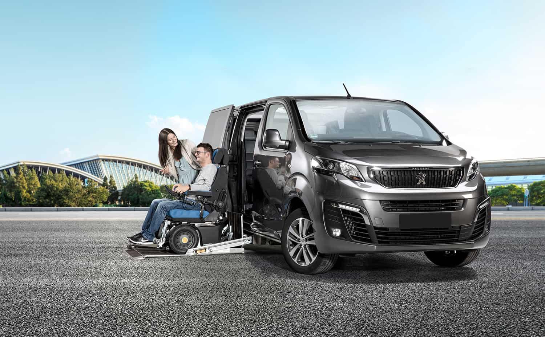 Peugeot Traveller Umbau mit PR Rollstuhl