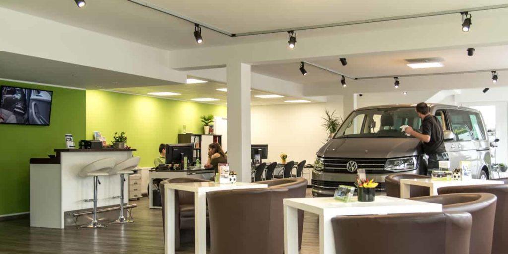 Beratungsraum der KADOMO GmbH