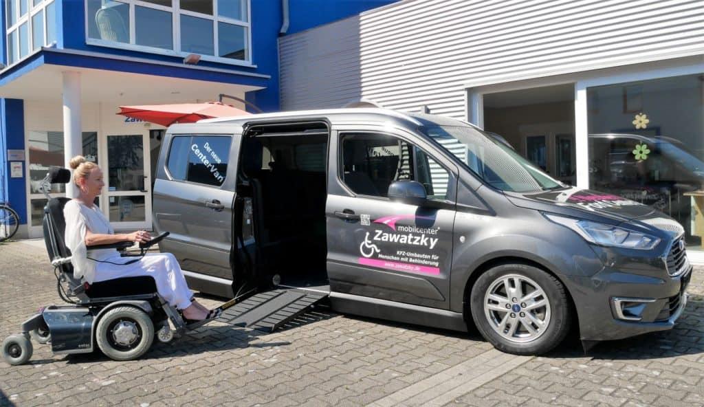 Centervan auf Basis Ford Connect