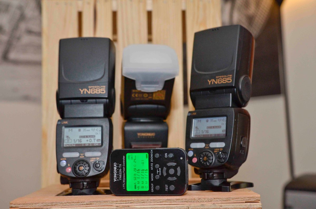 Why you should consider the Yongnuo flash system!