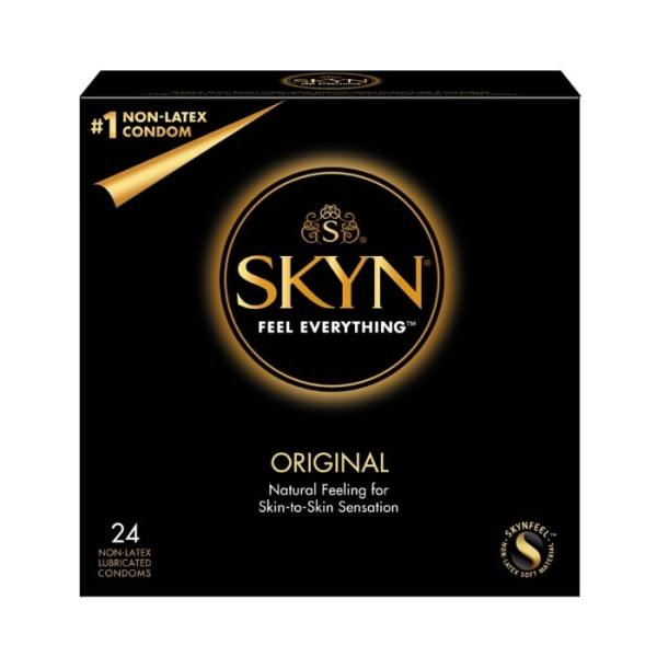 Thin Feeling & Snug Fit Condoms - Lifestyles SKYN 24 Ct