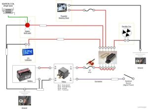 Lascar Voltmeter Install Pics  Electrical  VFRDiscussion
