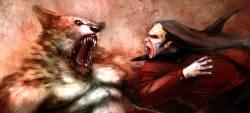 vampire werewolf