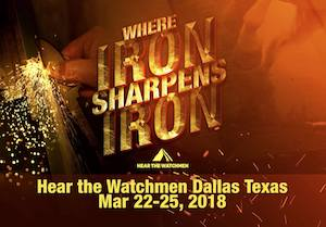 Hear the Watchmen Dallas @ Hilton DFW Lakes Executive Conference Center
