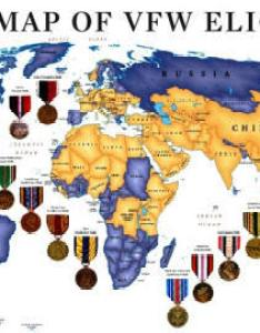 Vfw eligibility map also membership in the rh vfw