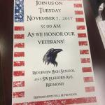 2017 Ridgeview H.S. Tribute to Veterans Assembly