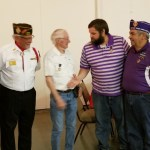 Korea Veteran receives Purple heart