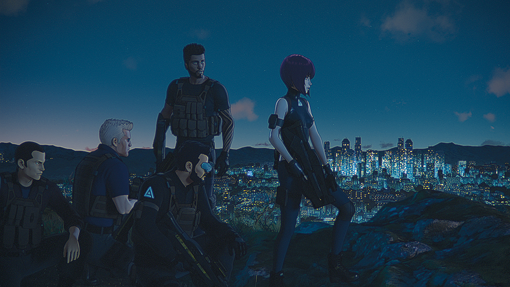 Ghost In The Shell Anime Revival Features New Look In 3d Cg Vfx Voice Magazinevfx Voice Magazine
