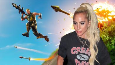 "Photo of المغنية الشهيرة ""Lady Gaga"" تسأل عن Fortnite و الانترنت باكملة يتفاعل معها.."