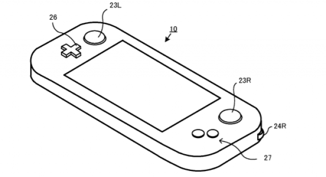 Nintendo Patents Controller With Two Shoulder Scroll