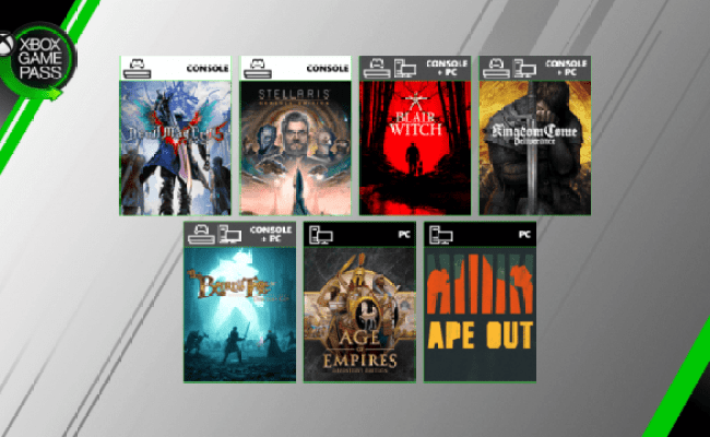 Xbox Game Pass Adds Devil May Cry 5 Age Of Empires