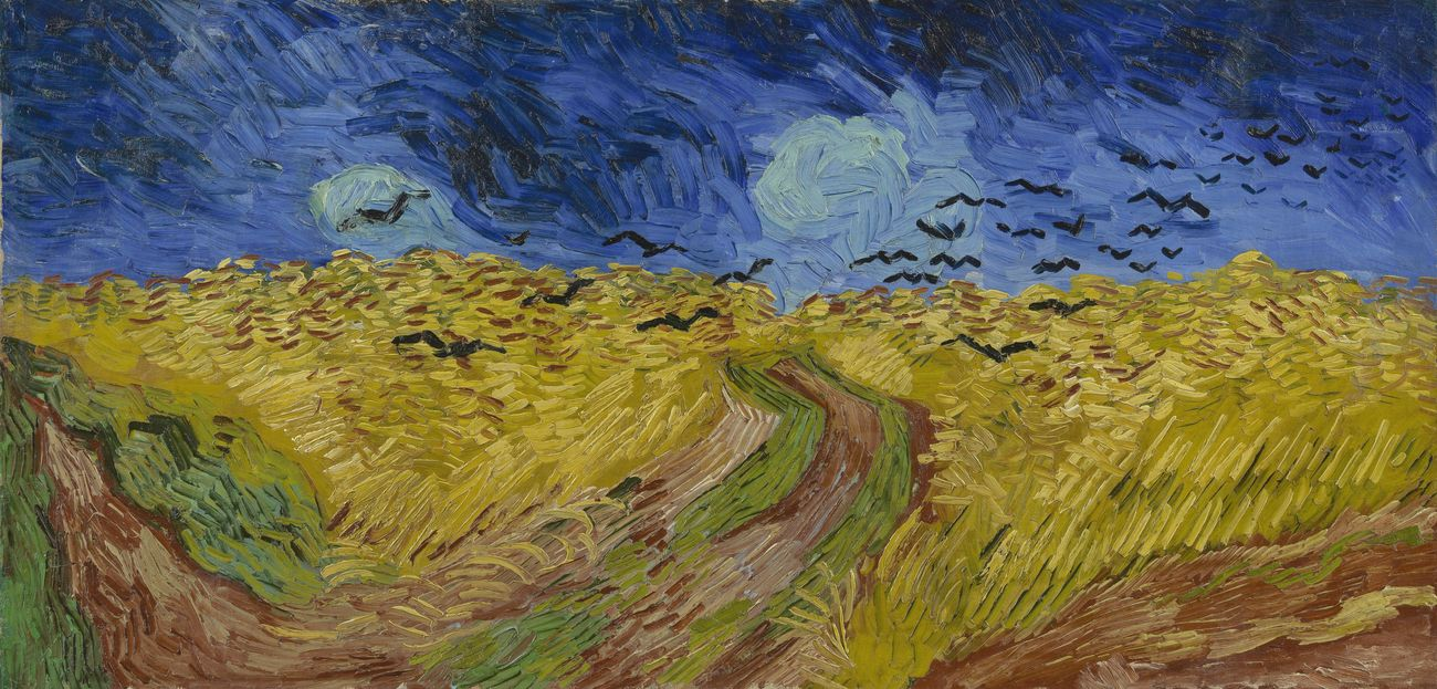 Image result for van gogh cornfield