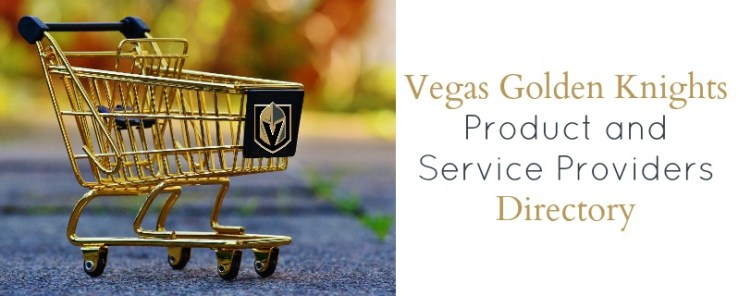Vegas Golden Knights Product and Service Providers Directory