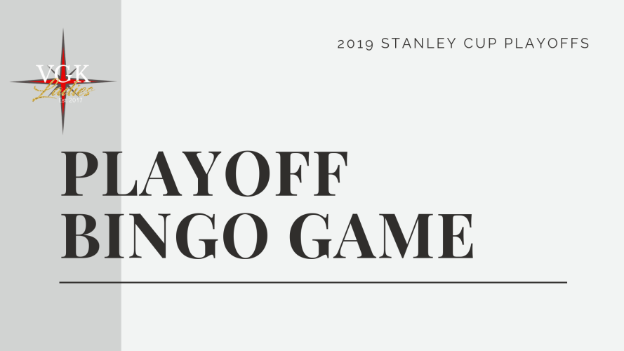 Vegas Golden Knights Playoff Bingo Game