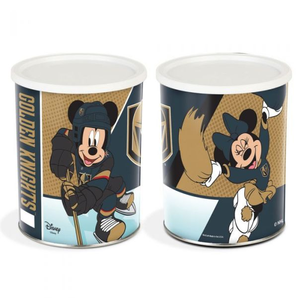 Vegas Golden Knights Disney Gift Tins Featuring Mickey and Minnie