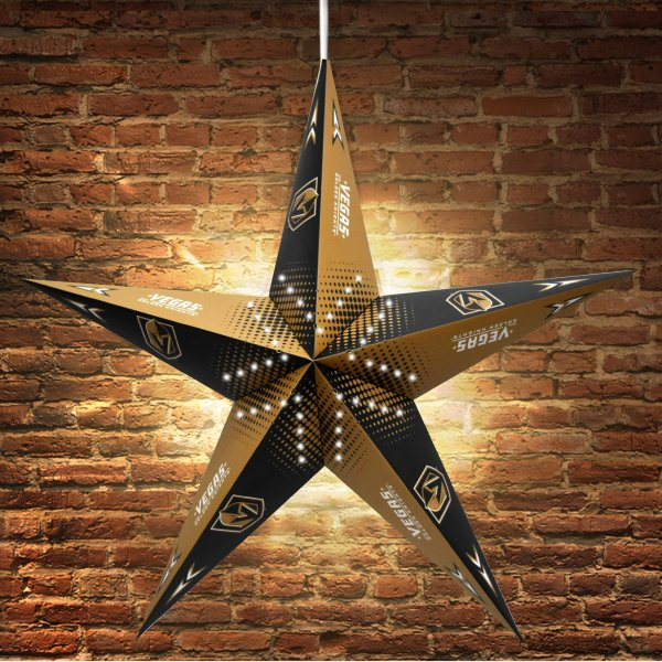 Vegas Golden Knights Star Lantern