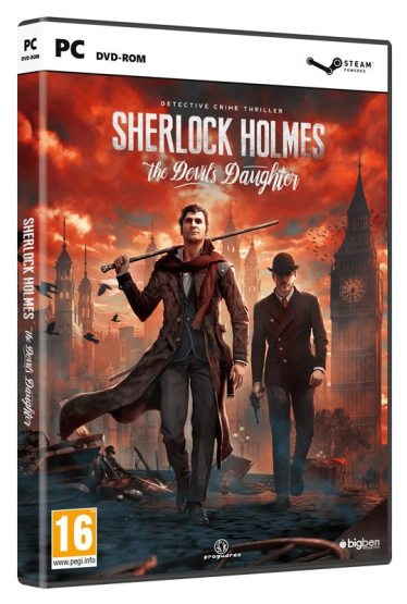 Sherlock Holmes The Devils Daughter - PC