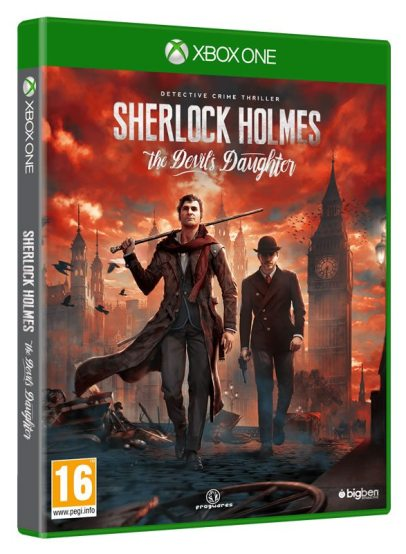 Sherlock Holmes The Devils Daughter - X1