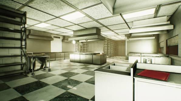 Una delle stanze nella struttura Renautas nella timeline del 2008...