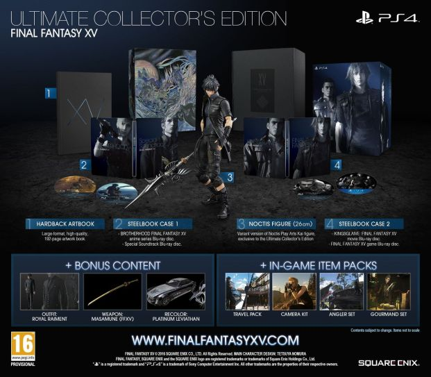 Final Fantasy XV: Ultimate Collector's Edition (PS4)