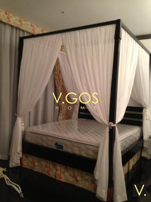 where to get sofa bed in singapore white leather for office four poster soft curtain , day and night curtain, ...