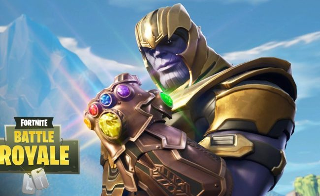 Fans Are Editing Fortnite S Dancing Thanos Into Marvel