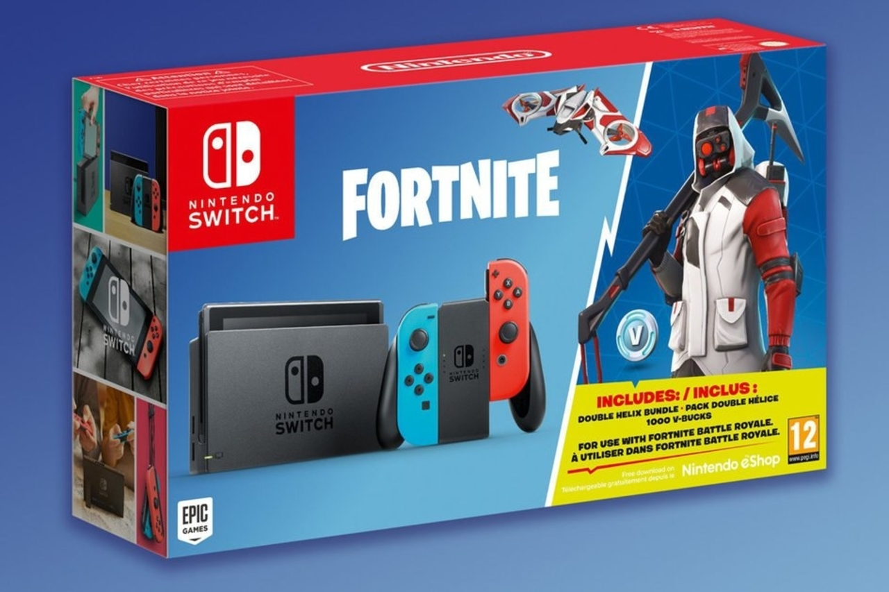 Fortnite Nintendo Switch Double Helix Bundle Announced Available For Pre Order Right Now