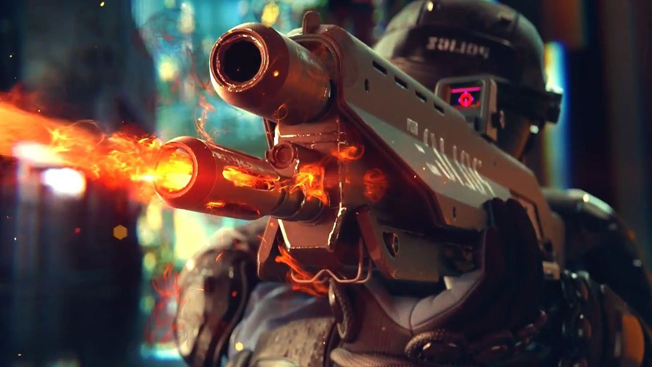 Cyber Girl Wallpaper The Night City Police Won T Be Pushovers In Cyberpunk 2077
