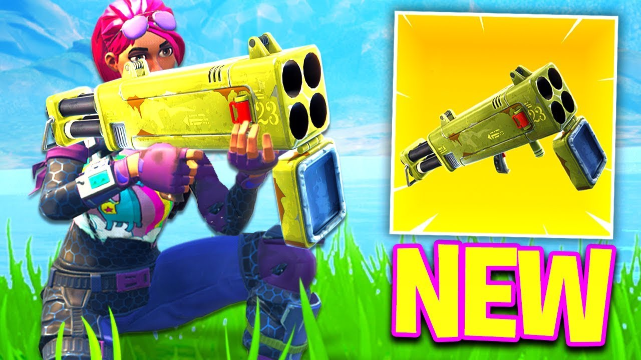 Quad Launcher Is Finally Coming To Fortnite Battle Royale
