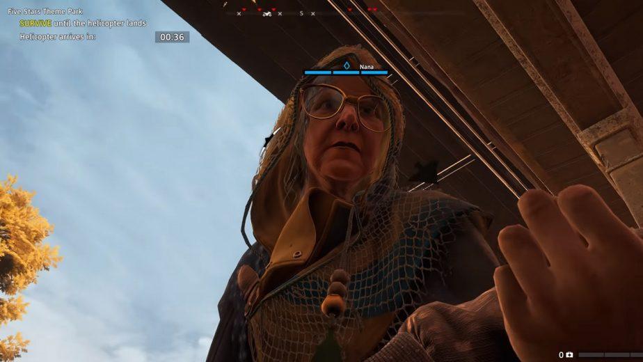 Far Cry New Dawn Guns-for-Hire: Nana, the Silent Sniper