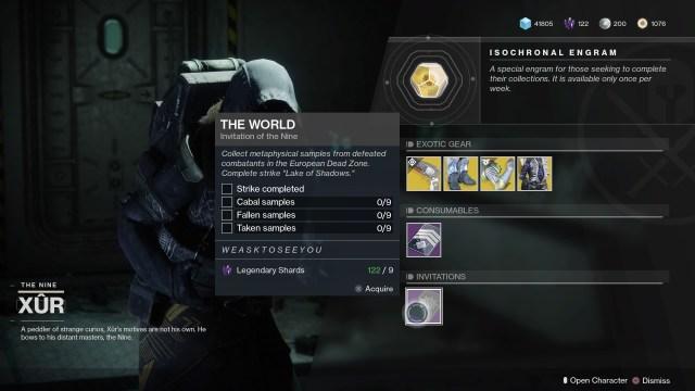 Destiny 2 Invitations of the Nine guide