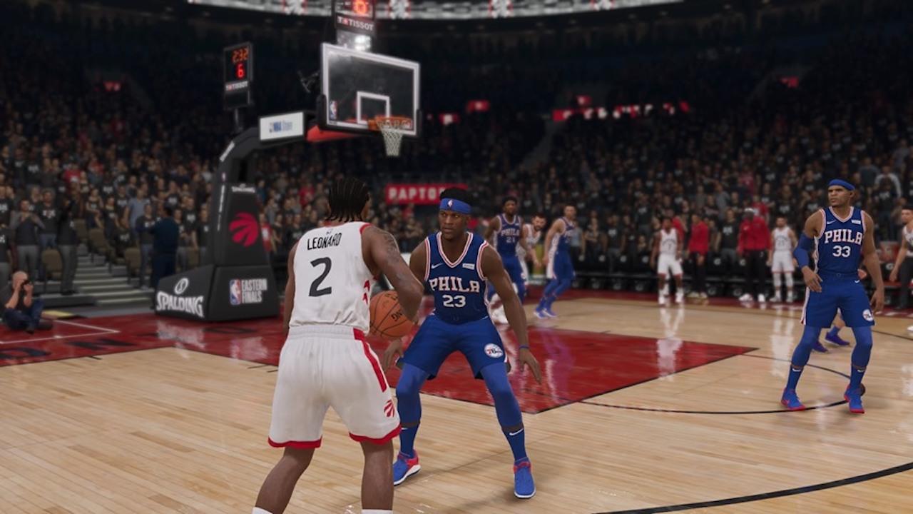 NBA Live 19 Playoffs Simulation Philadelphia 76ers vs