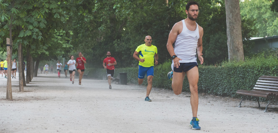 El running y el parque del Retiro - Madrid