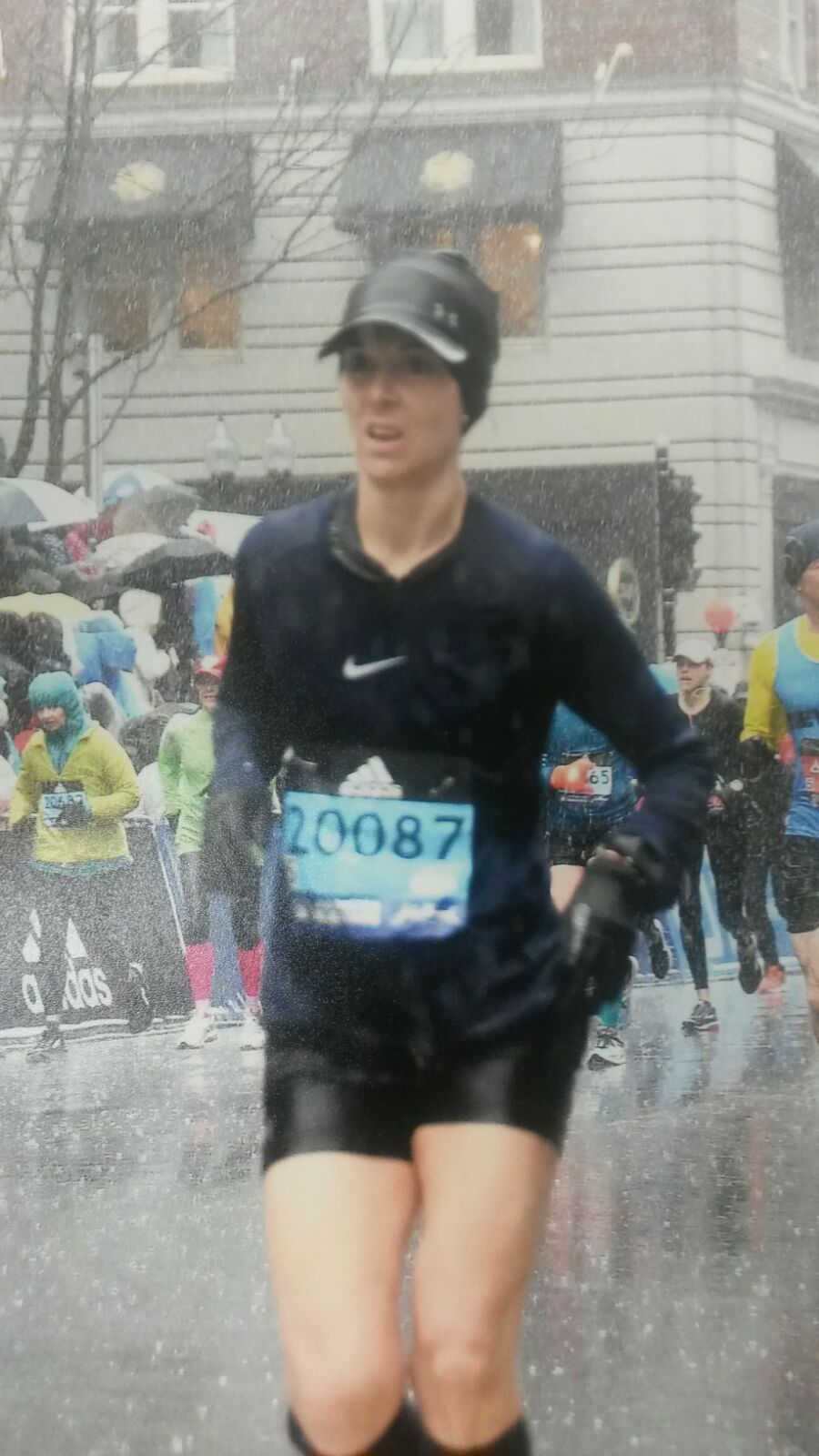 Maratón Boston - Carrera