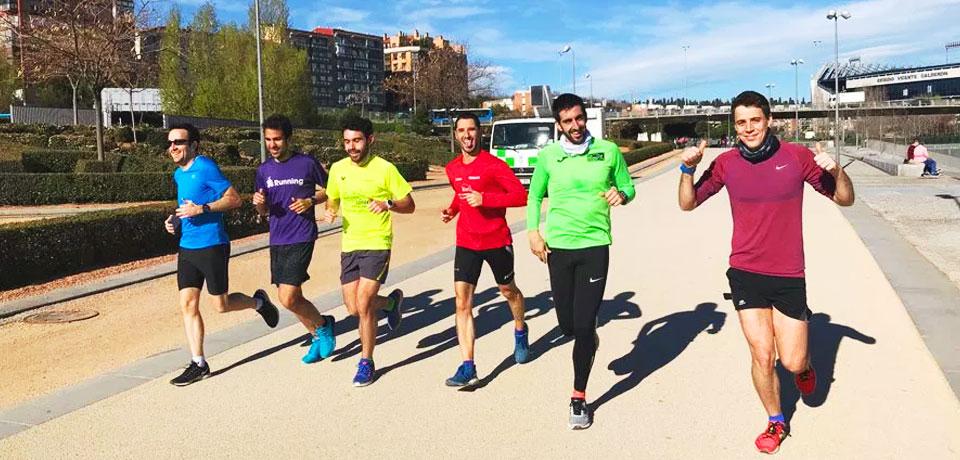 Nuevo grupo de VG Running En Madrid RIo
