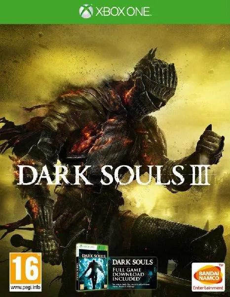 Dark Souls III Xbox One cover