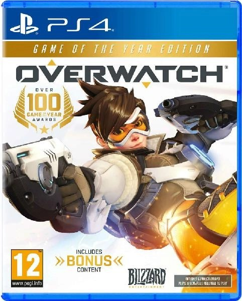 Overwatch Game of the Year PS4 cover