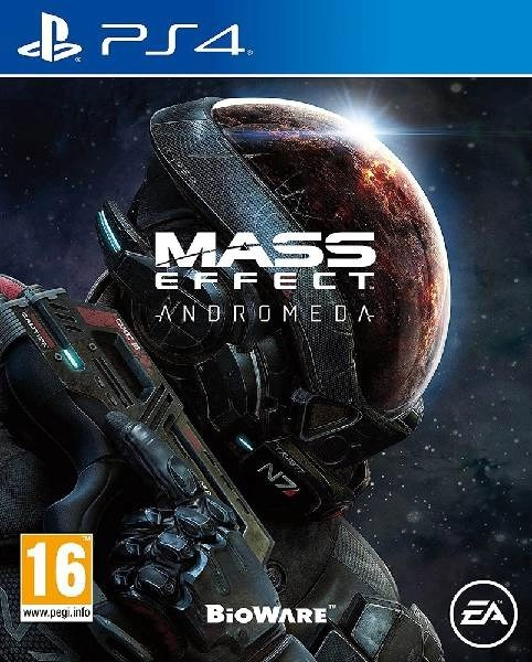 Mass Effect Andromeda PS4 cover