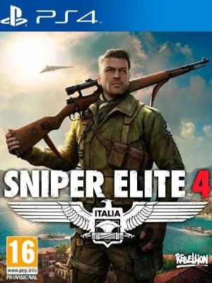 Sniper Elite 4 PS4 cover
