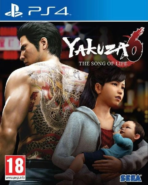 Yakuza 6 The Song of Life PS4 cover